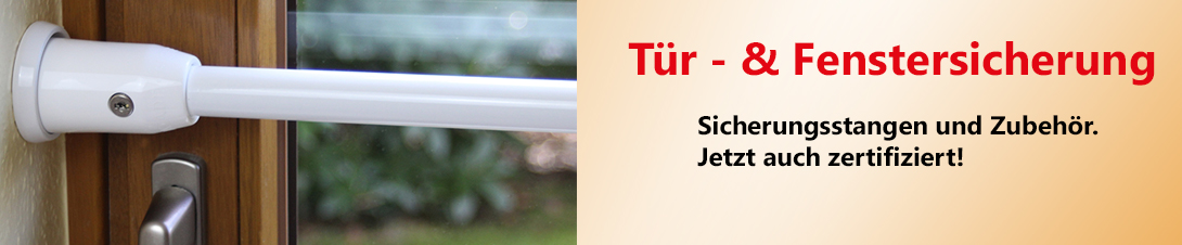 Sicherungsstangen ADE Fenster Türen Einbruchschutz Fenstersicherung Türsicherung