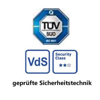 ADE Sicherungsstange Typ FS für Einbruchschutz an Fenstern & Türen, weiß
