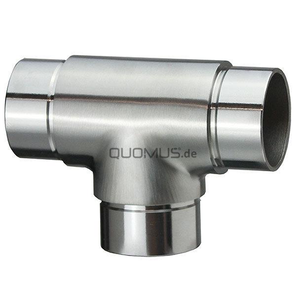 Gut gemocht 3-Wege-Verbinder 90° / T-Stück für Ø 42.4 mm Rundrohre V2A ZD41