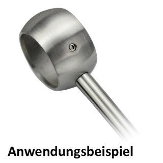 Kugelring Ringhalter Fur Handlauf O 42 4 Mm V2a Edelstahl 5 79